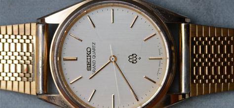 Reloj de oro Seiko