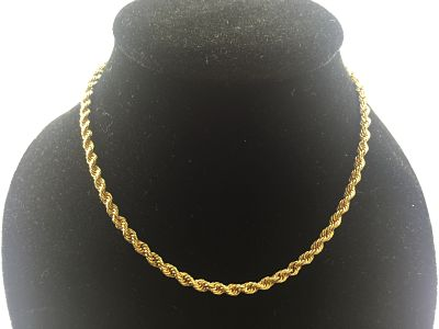 28b12c6288d3 Cadena cordón de oro amarillo de 18 kt
