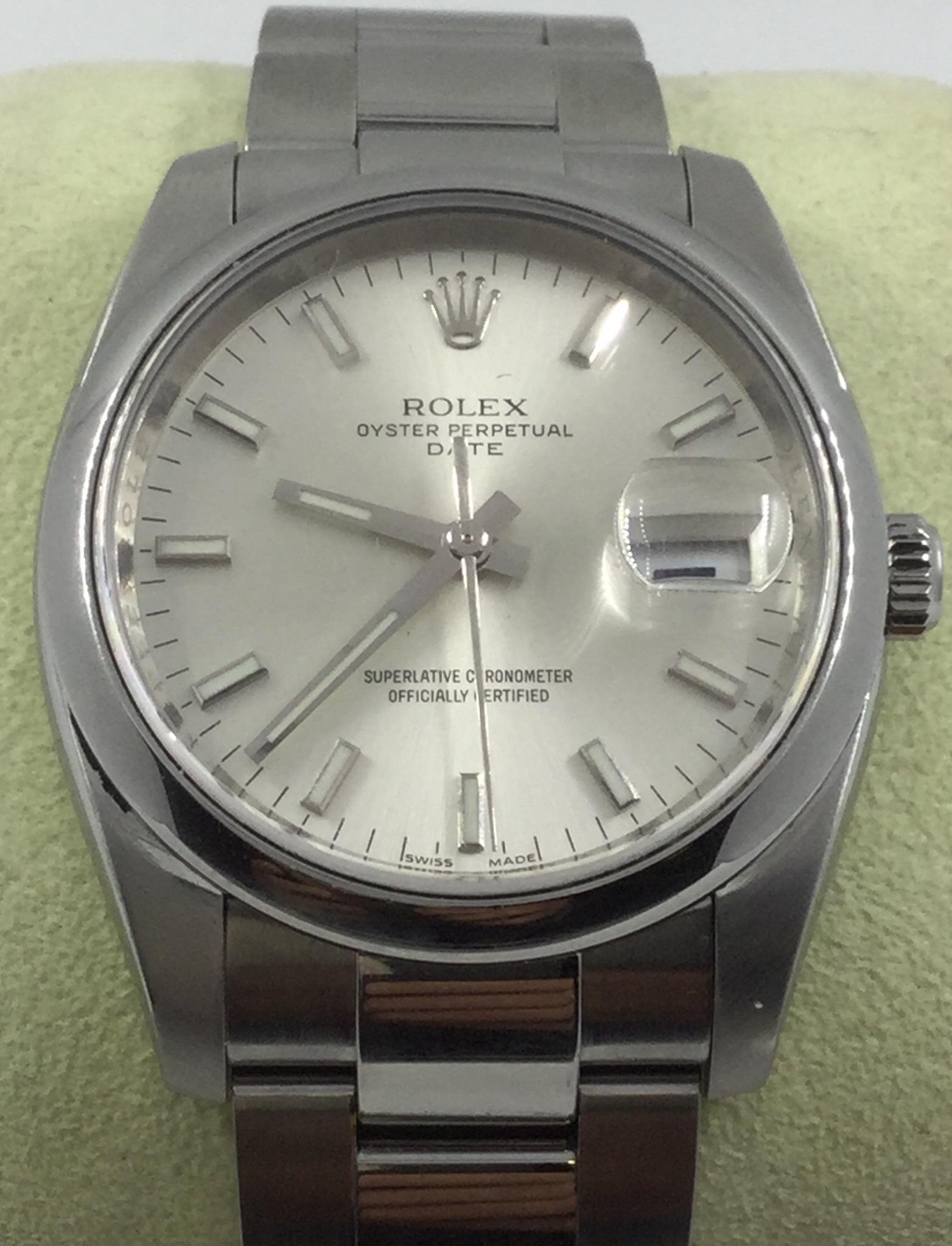 6b9fe8d4655e1 Rolex Oyster Perpetual Date