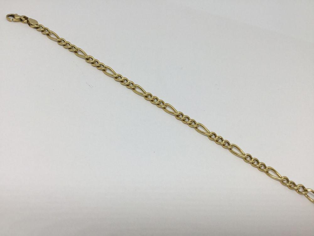 a5a43625f1ca Pulsera de oro amarillo 18k