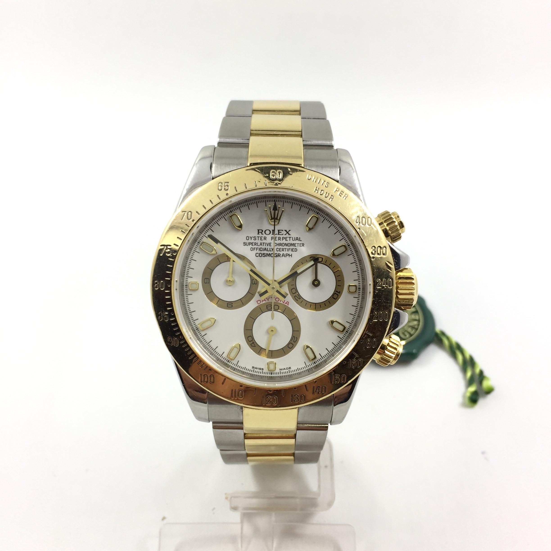 5f83a8af8448 Rolex Daytona acero y oro