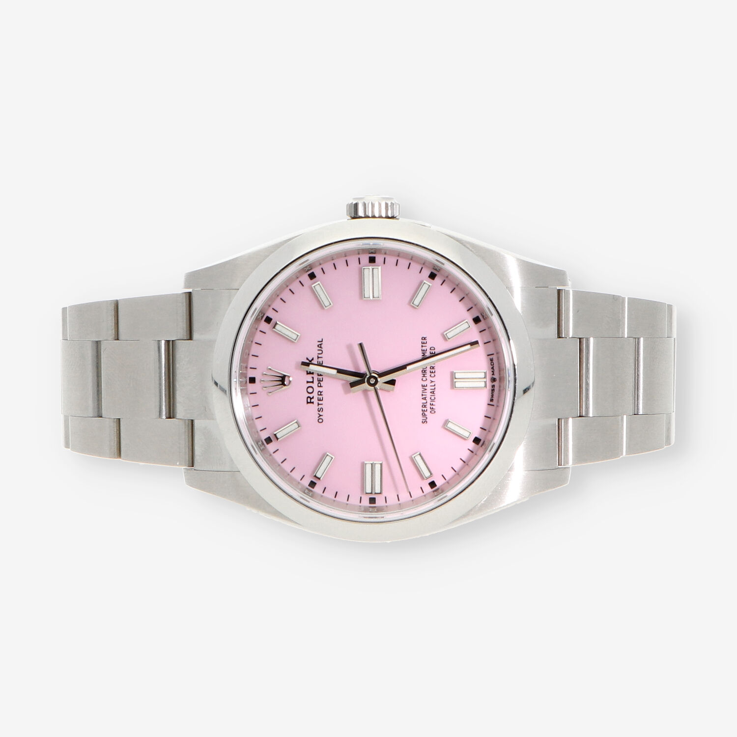 Rolex Oyster Perpetual 36 Candy Pink caja y documentos