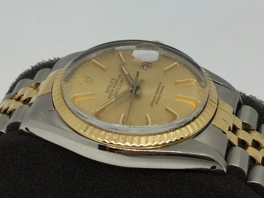 Rolex Oyster Perpetual Datejust acero y oro