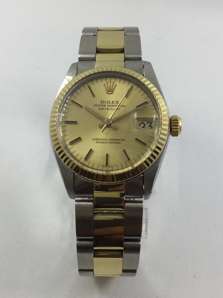 d6ecd58dafe Rolex Oyster Perpetual Datejust acero y oro para señora
