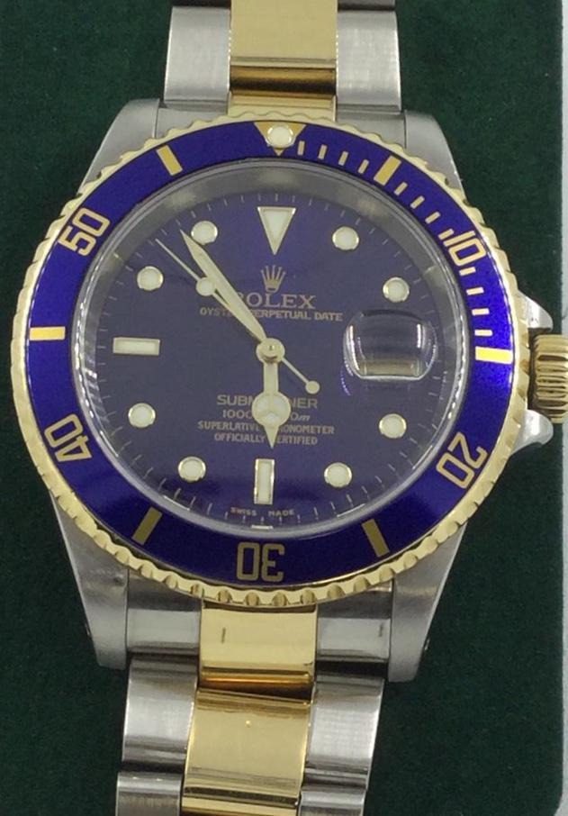 f048c2daf85 Rolex Submariner acero y oro