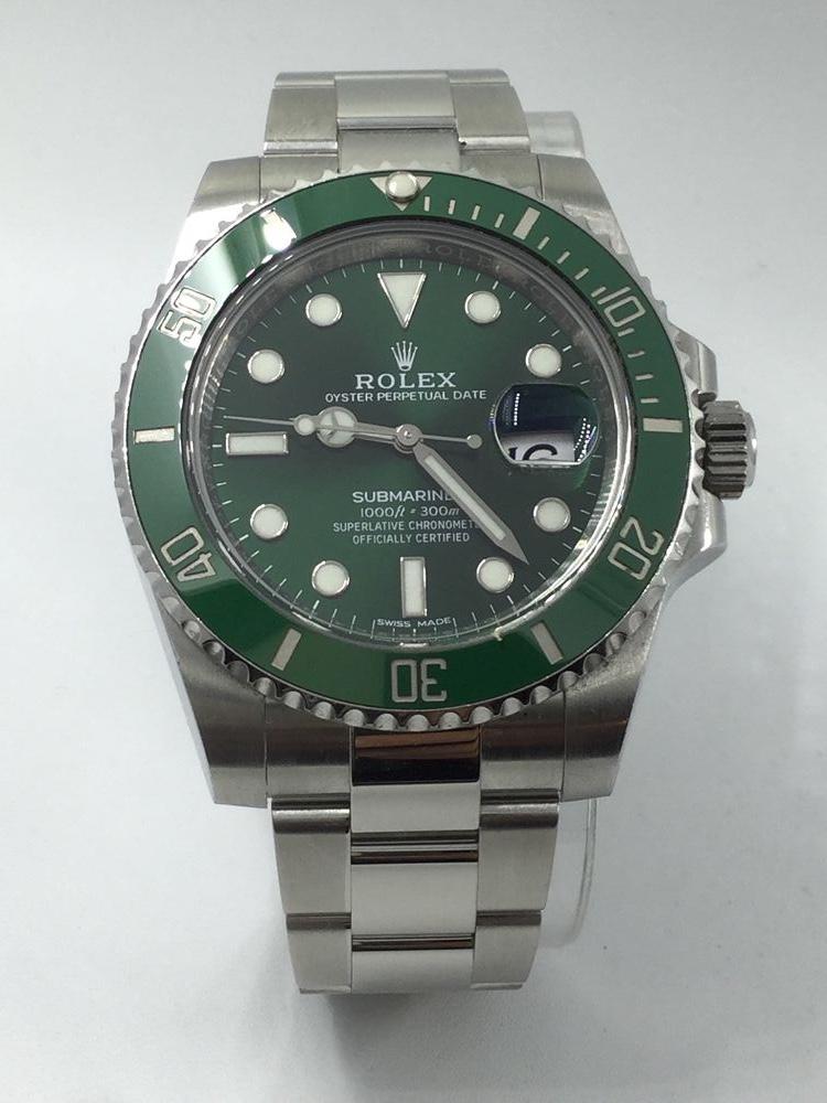 "89ed3f731a9bb Rolex Submariner ""Hulk"""