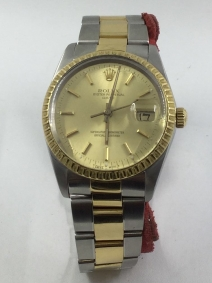 Rolex Oyster Perpetual Date acero y oro | Comprar Rolex de segunda mano | Comprar reloj segunda mano